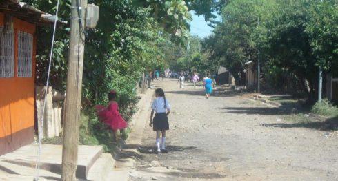 calles en Chinandega, Nicaragua