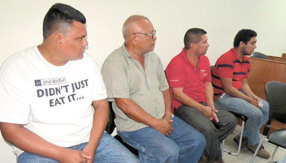 Cuatro personas fueron acusadas en los Juzgados de Managua por el delito de asesinato frustrado. LA PRENSA / Priscila Gómez.