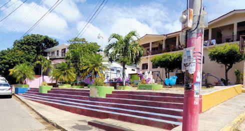 Este es el parque construido en un terreno privado que se ubica a 125 metros de la costa de San Juan del Sur.. LA PRENSA / RAMON VILLARREAL