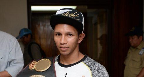 Byron Rojas se convirtió en campeón del mundo en marzo del 2016. Foto: LA PRENSA