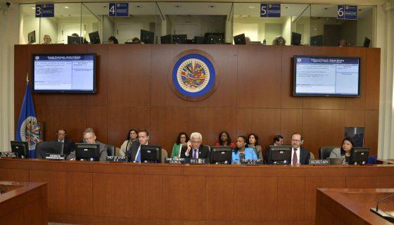 En la reunión de este miécoles el Consejo Permanente de la OEA definirá la agenda de la próxima Asamblea General. LA PRENSA/OEA