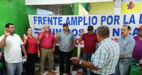 Frente Amplio, elije consejo político en Masatepe