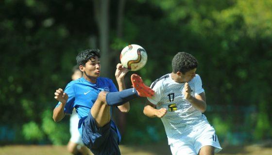 Colegio Americano Nicaragüense ganó 4 cuatro juegos, perdió y empató uno. Foto: Manuel Esquivel