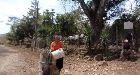escasez agua, falta de agua, Nicaragua