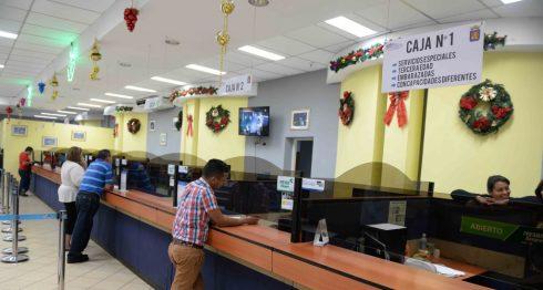 Pago de impuestos en la Alcaldía de Managua