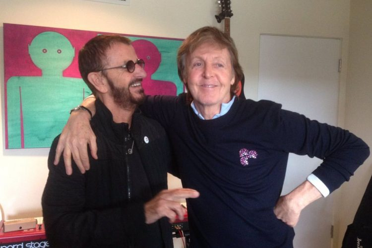 Ringo Starr, Paul McCartney, The Beatles