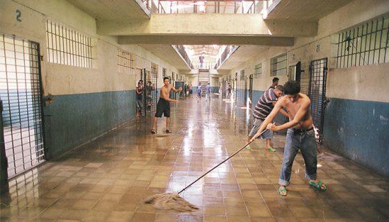Penales de Nicaragua, reos, hacinamiento