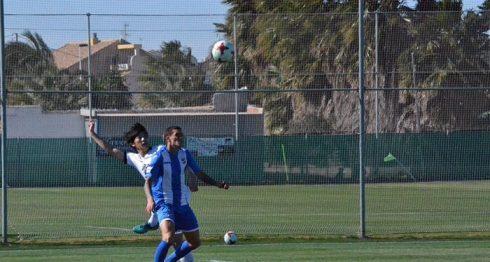 Jaime Moreno debutó con el Lorca de España. LAPRENSA/ CORTESÍA/ LORCA FC