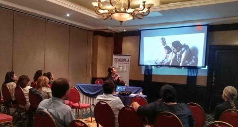 Hagamos Democracia presentó plataforma web para la sociedad civil