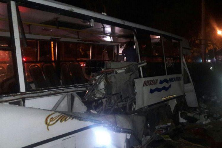 accidentes de tránsito, Nicaragua, ruta 164, accidente managua