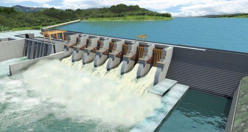 Apawas, Hidroeléctrica, energía