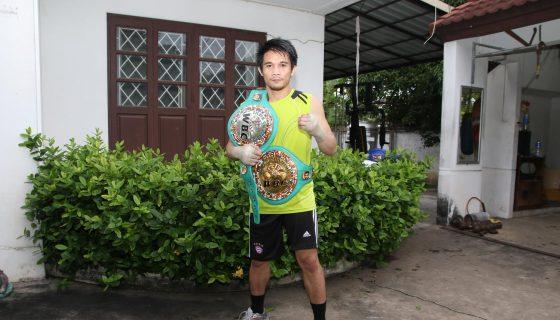 El tailandés Srisaket Sor Rungvisai ha realizado la preparación de su vida para este choque con Román González. Foto: Cortesía/ Kui Kamolphat