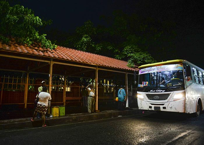 Unidad del transporte urbano colectivo de Managua. LA PRENSA / Archivo.