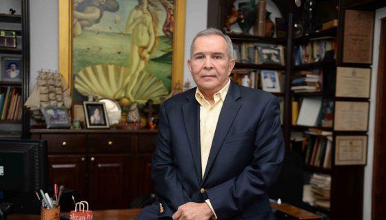 José Luis Velásquez, ex embajador de Nicaragua ante la OEA. LA PRENSA/CARLOS VALLE