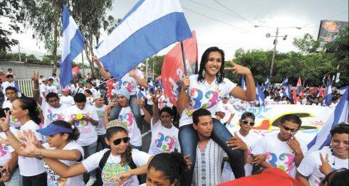 Juventud Sandinista, FSLN, sandinistas, juventud, js