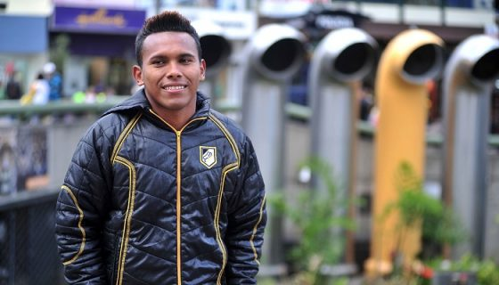 Yader Balladares reununció a la selección nicaragüense de futbol en 2012, por falta de condiciones para los seleccionados. LAPRENSA/ CORTESÍA/NACIÓN COSTA RICA