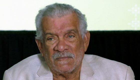 Escritores nicaragüenses recuerdan al Premio Nobel de Literatura Derek Walcott quien fue invitado de honor en el VIII Festival Internacional de Poesía de Granada en el 2012. LAPRENSA/AP