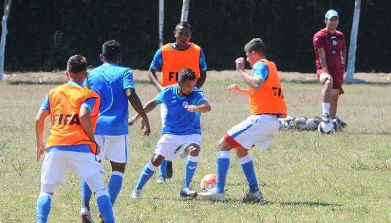 La Selección de Futbol ha marcado 34 goles en 21 partidos clase A desde el 2015, cuando tomó las riendas el técnico costarricense Henry Duarte. LA PRENSA/WILMER LÓPEZ