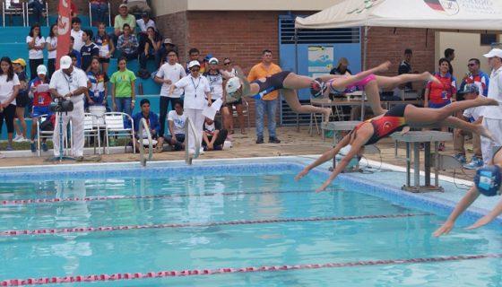 La natación inauguró los Juegos Centroamericanos. LAPRENSA/ CORTESÍA/ COLEGIO ALEMÁN