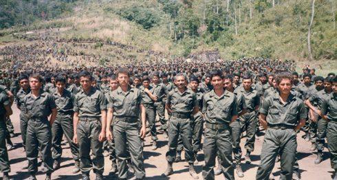 La Contra tuvo aproximadamente a 25,000 soldados en sus filas, según Óscar Sobalvarro. Foto: Cortesía / La Prensa
