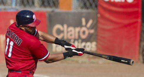 Ofilio Castro disparó un cuadrangular solitario en la victoria de los Dantos frente a Rivas. LA PRENSA/URIEL MOLINA