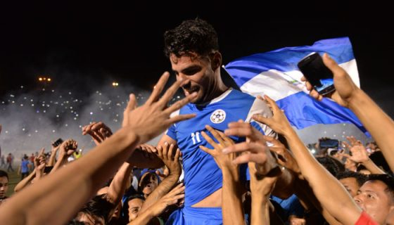 Copa Oro, Nicaragua vs Haití, Juan Barrera,