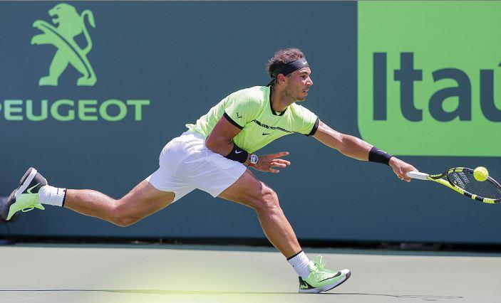 Rafael Nadal volvió a lucirse y disputará otra final en su carrera. LAPRENSA/ EFE