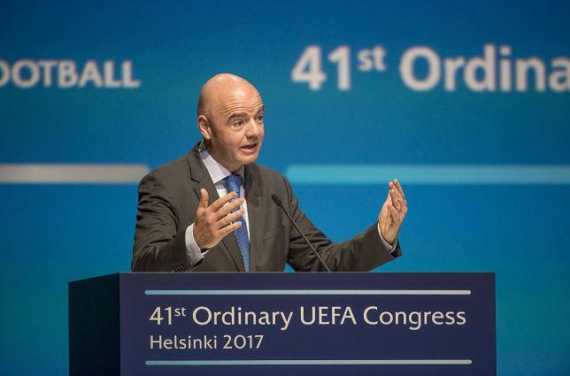 Gianni Infantino prometió manejar la FIFA con mayor transparencia al tomar el cargo de presidente. LAPRENSA/ EFE