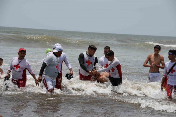 Cruz Roja, Semana Santa, Nicaragua