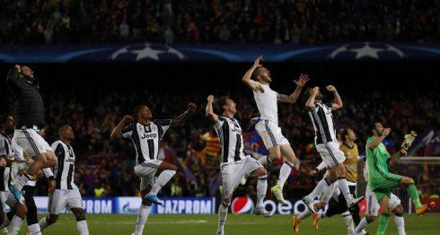 Barcelona, Juventus, Champions League