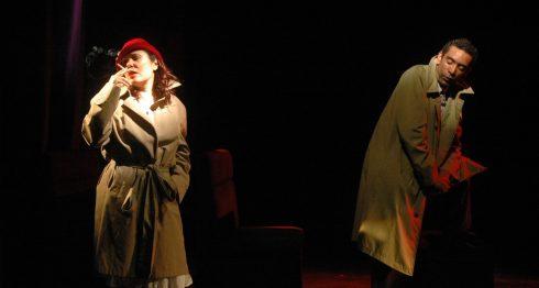 La actriz Lucero Millán y el actor René Medina Chávez, protagonistas de la obra ¡Ay amor, ya no me quieras tanto!. LAPRENSA/Cortesía/Teatro Justo Rufino Garay