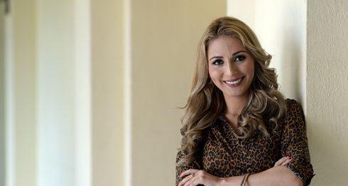 Roxana Vega, periodista y conductora de television. LA PRENSA/Lissa Villagra
