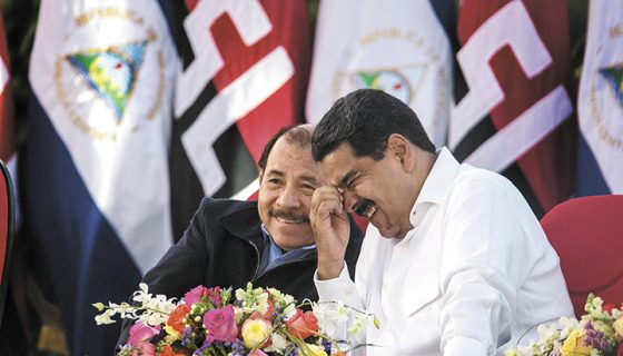 cooperación venezolana, Daniel Ortega, Nicolás Maduro, Venezuela, Nicaragua