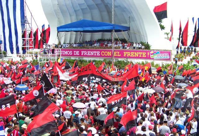 Risultati immagini per Marcha Sandinista