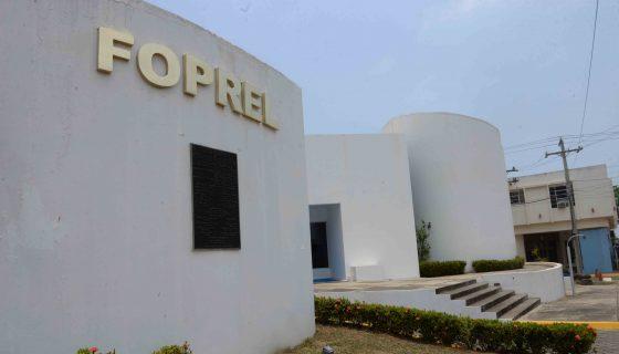 El edificio de Foprel está ubicado donde fue la Cárcel El Hormiguero, sobre la actual Avenida Augusto C. Sandino, esquina opuesta a la sede de la Vicepresidencia, en Managua. LA PRENSA/L. VILLAGRA
