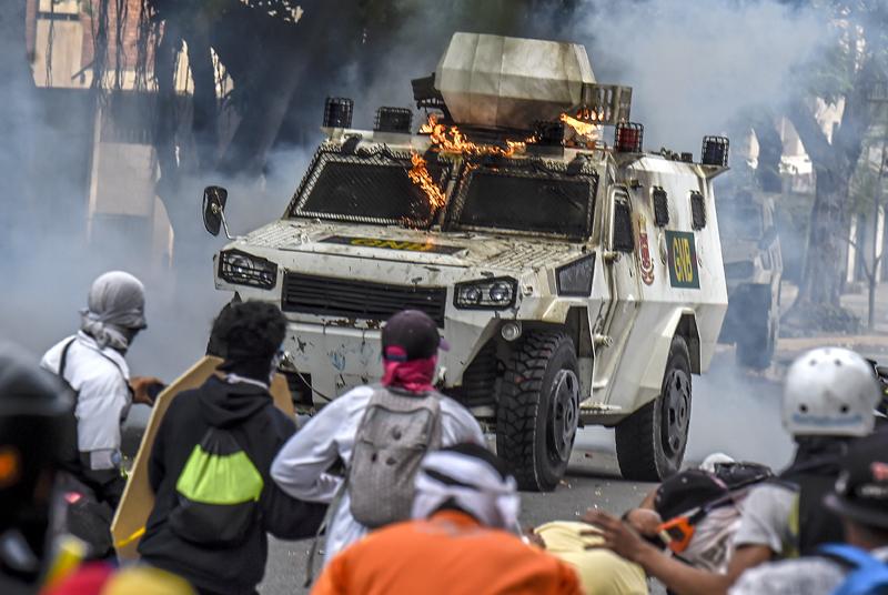 Venezuela, protestas en venezuela