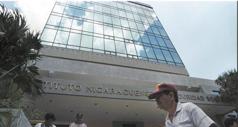 El Instituto Nicaragüense de Seguridad Social. LA PRENSA / Archivo.