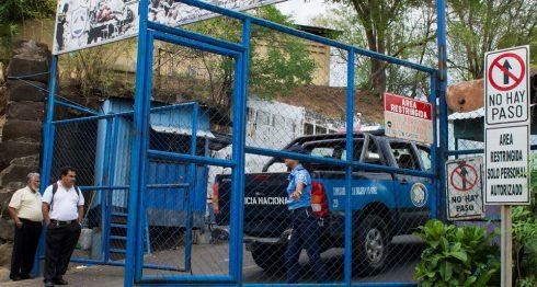 policías de Nicaragua, Policía, El Chipote, Managua, Policía de Nicaragua