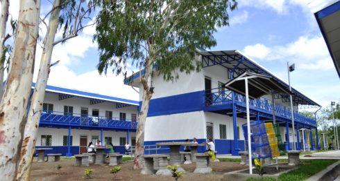 Escuela de dos pisos, Teustepe, Boaco