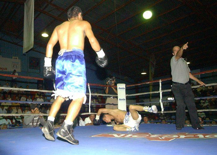 Los 19 boxeadores nicaragüenses rescatados en España vivían en condiciones deplorables y eran obligados a pelear hasta dos veces al mes. LA PRENSA/ARCHIVO