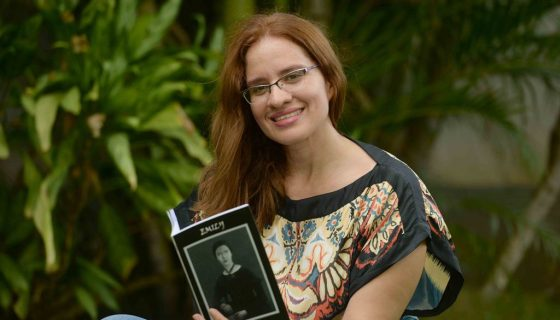 Poeta Magda Bello. LAPRENSA/ROBERTO FONSECA