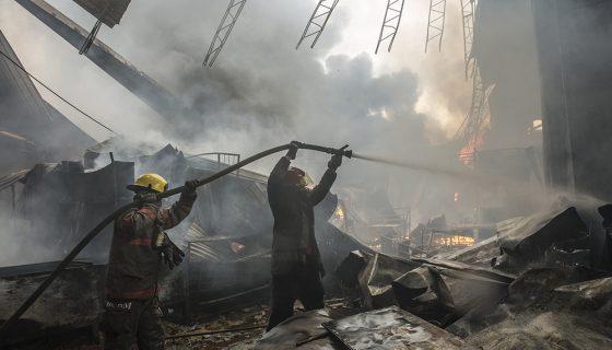 mercado oriental, incendio en el oriental, oriental