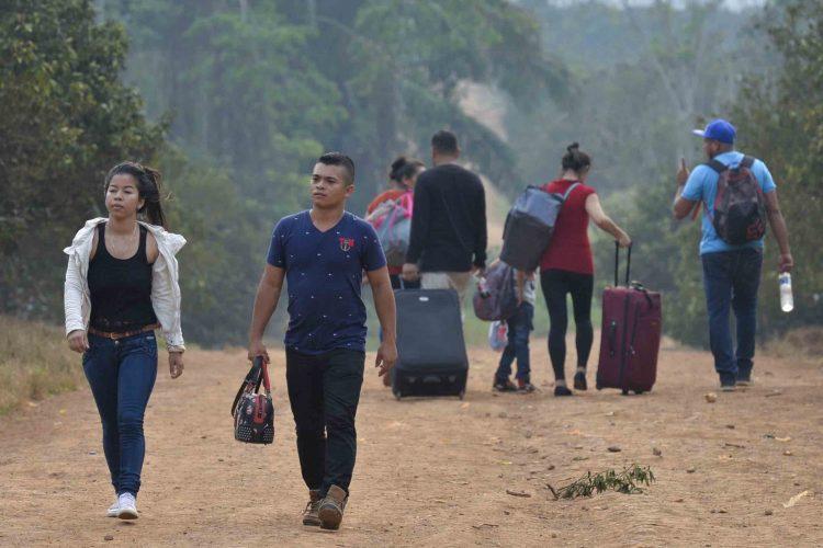 migrantes, Nicaragua
