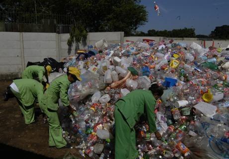 Fonare, Plástico, Reciclaje