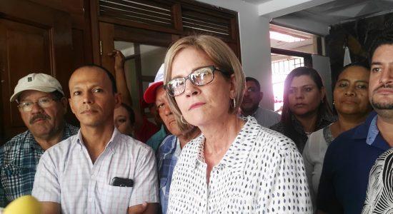 Presidenta de Ciudadanos por la Libertad (CxL), Kitty Monterrey.
