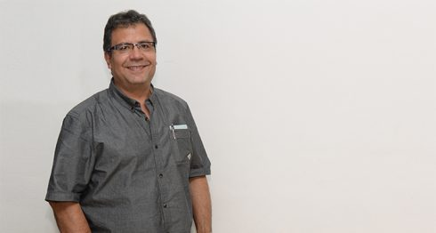 Alberto Salcedo, periodista y escritor Colombiano. Oscar Navarrete/ LA PRENSA.