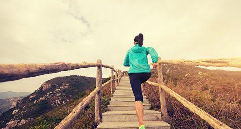 Hacer ejercicios en escaleras no es tan beneficioso