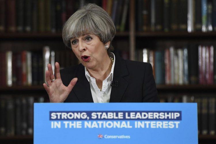 primera ministra, Theresa May, Londres, Reino Unido, Inglaterra
