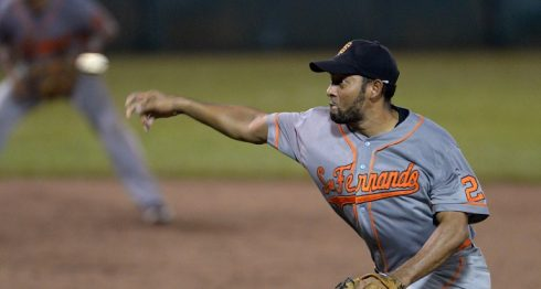Jimmy Bermúdez, Beisbol, San Fernando