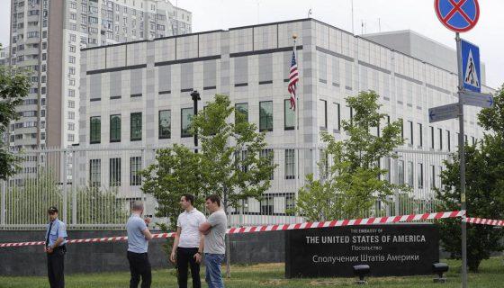 Ucrania, embajada de Estados Unidos en Ucrania